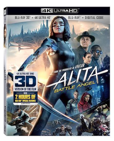 ALITA Blu-ray