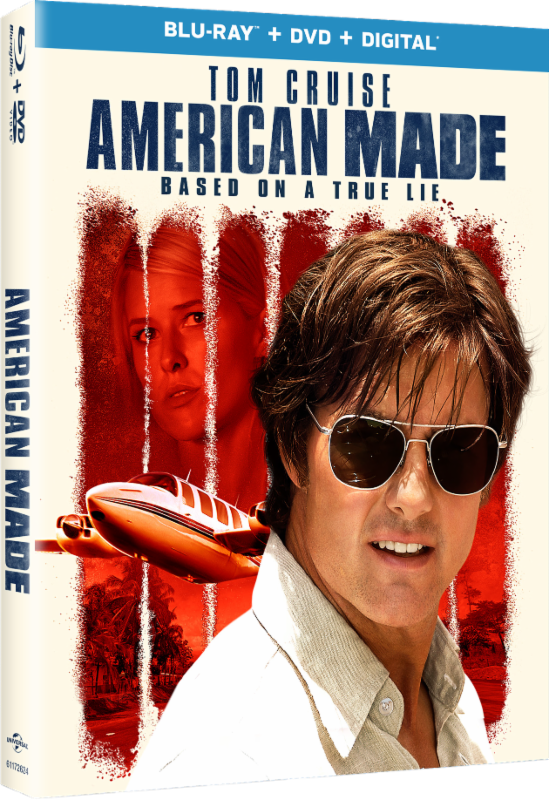 American Made Movie Blu-ray