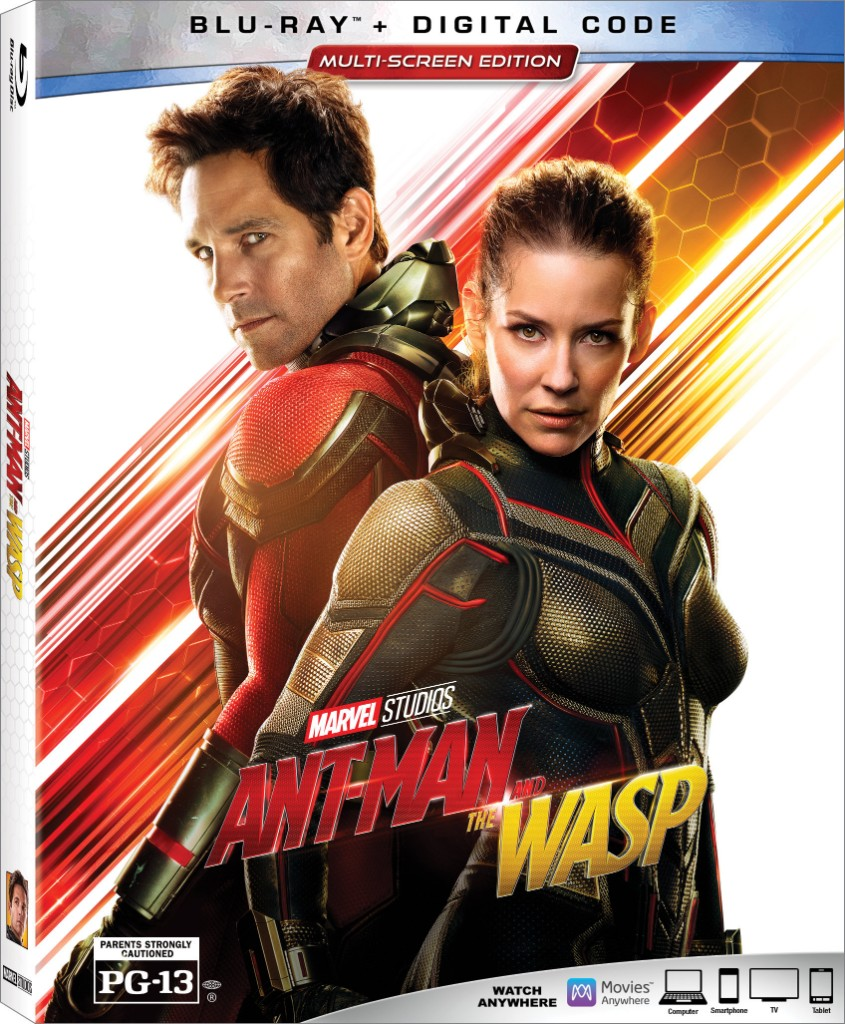 Ant-Man and The Wasp Story Blu-ray Review