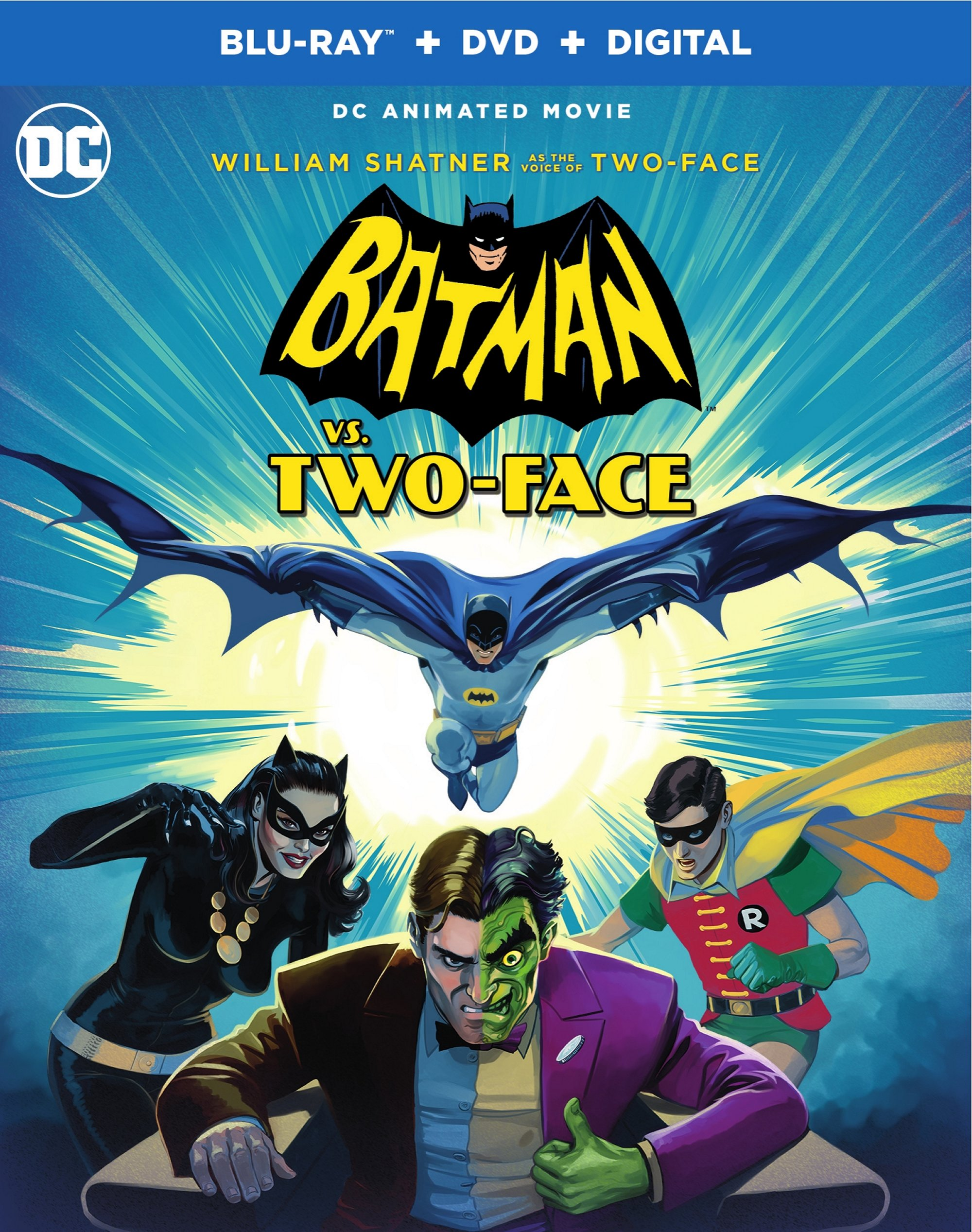 Batman vs. Two-Face Blu-ray