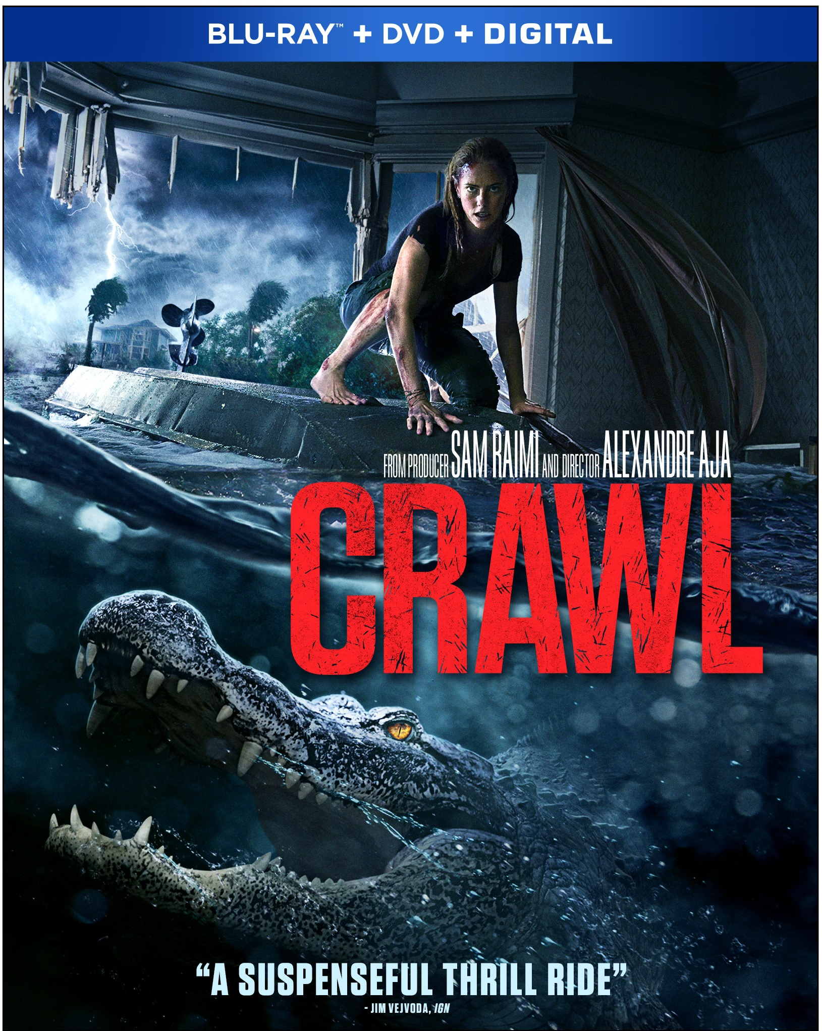 CRAWL Blu-ray