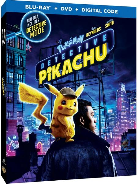 POKÉMON Detective Pikachu Blu-ray