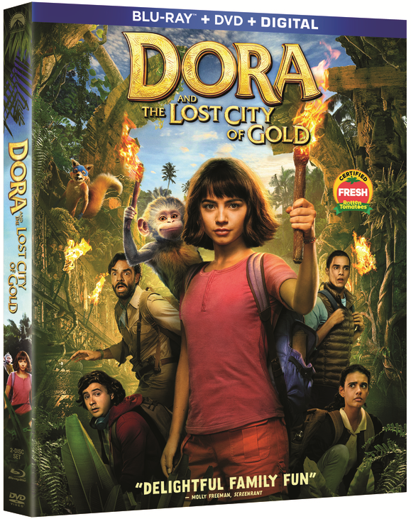 Dora and The Lost City of Gold 4K Blu-ray Review