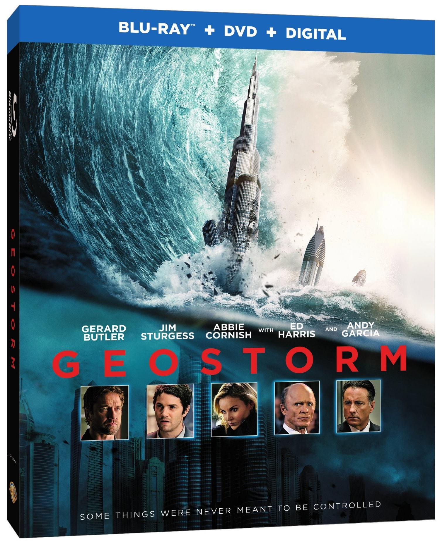 American Made Movie Geostorm Blu-ray
