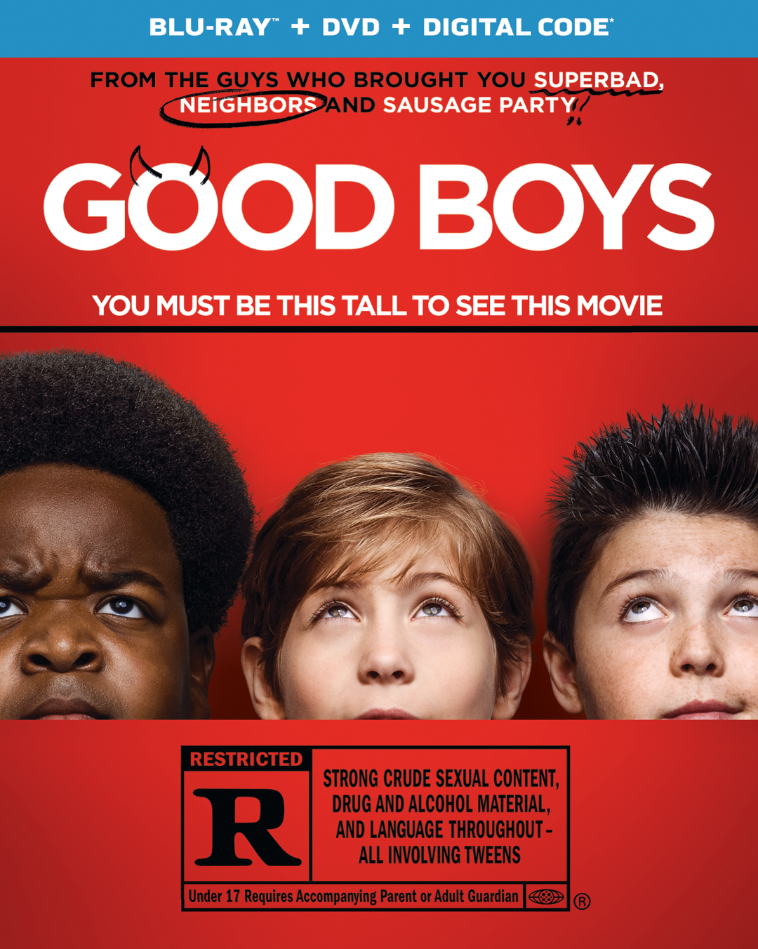 GOOD BOYS  Blu-ray