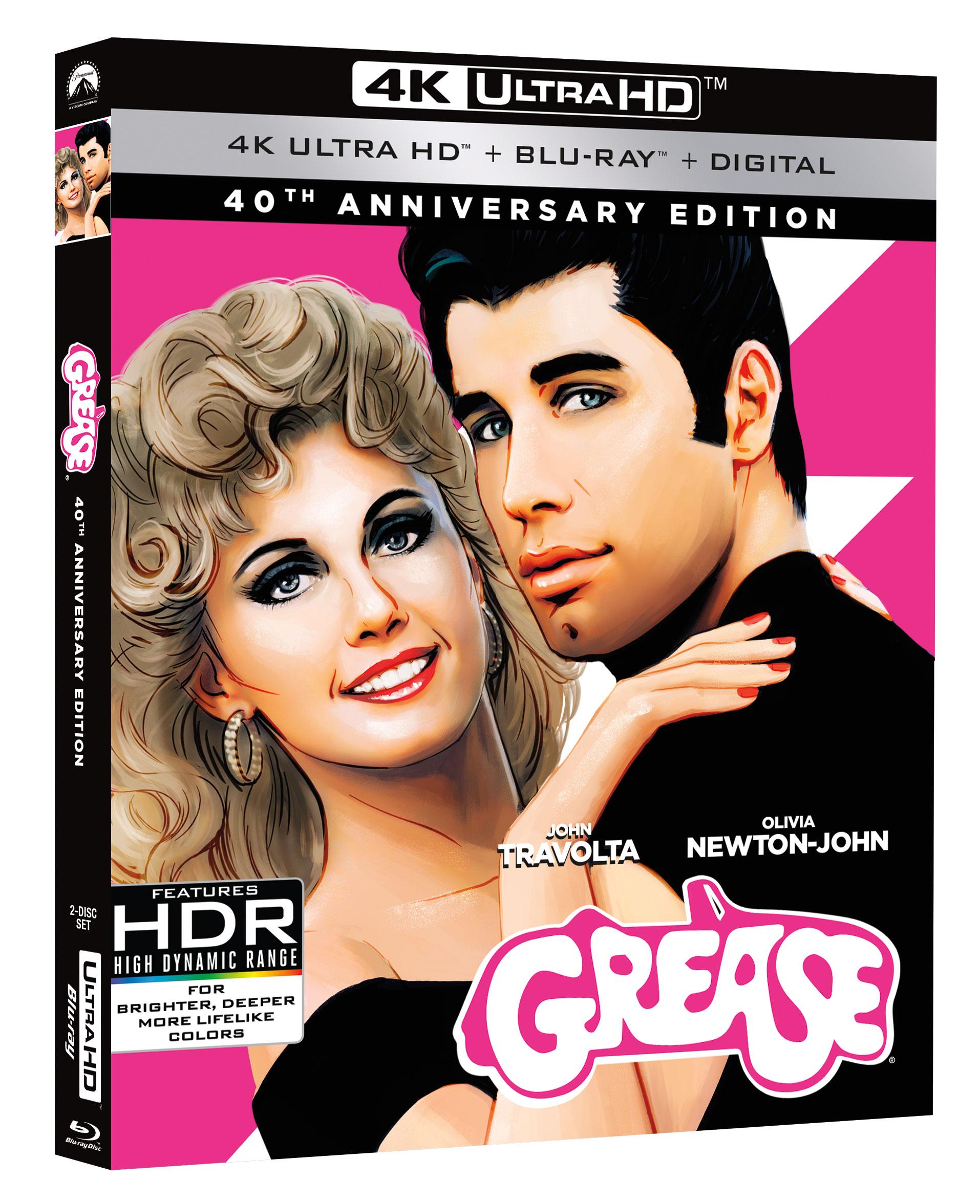 Grease 4k  Blu-ray