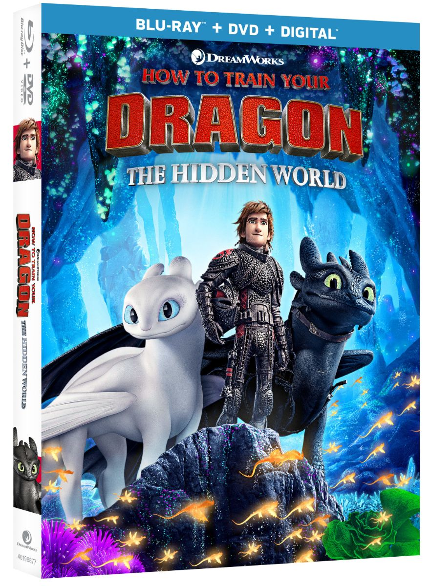 How to Train Your Dragon 3 Blu-ray