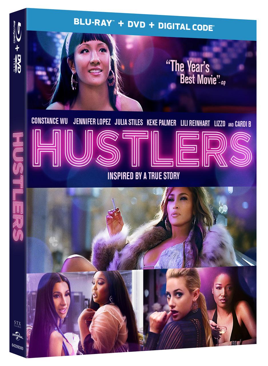 HUSTLERS Blu-ray