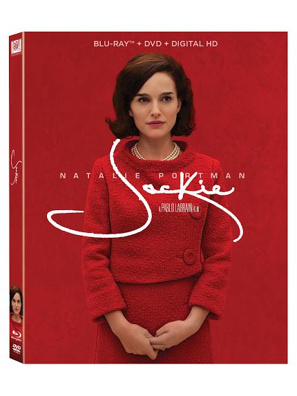 JACKIE Blu-ray