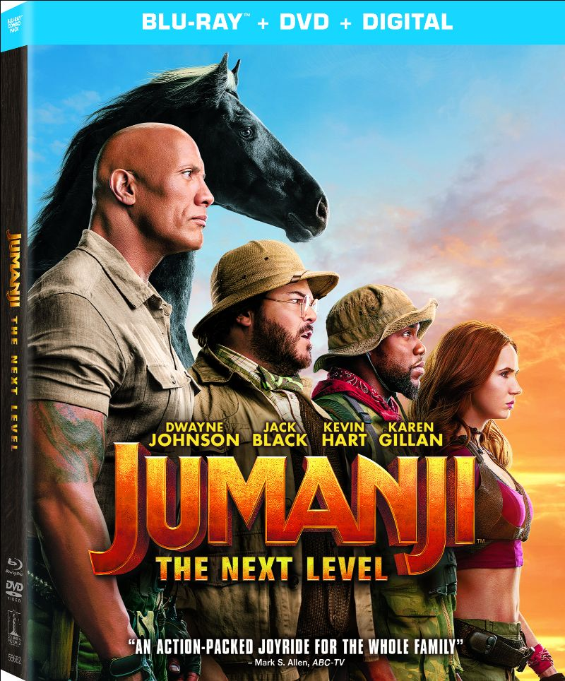 JUMANJI: THE NEXT LEVEL Blu-ray