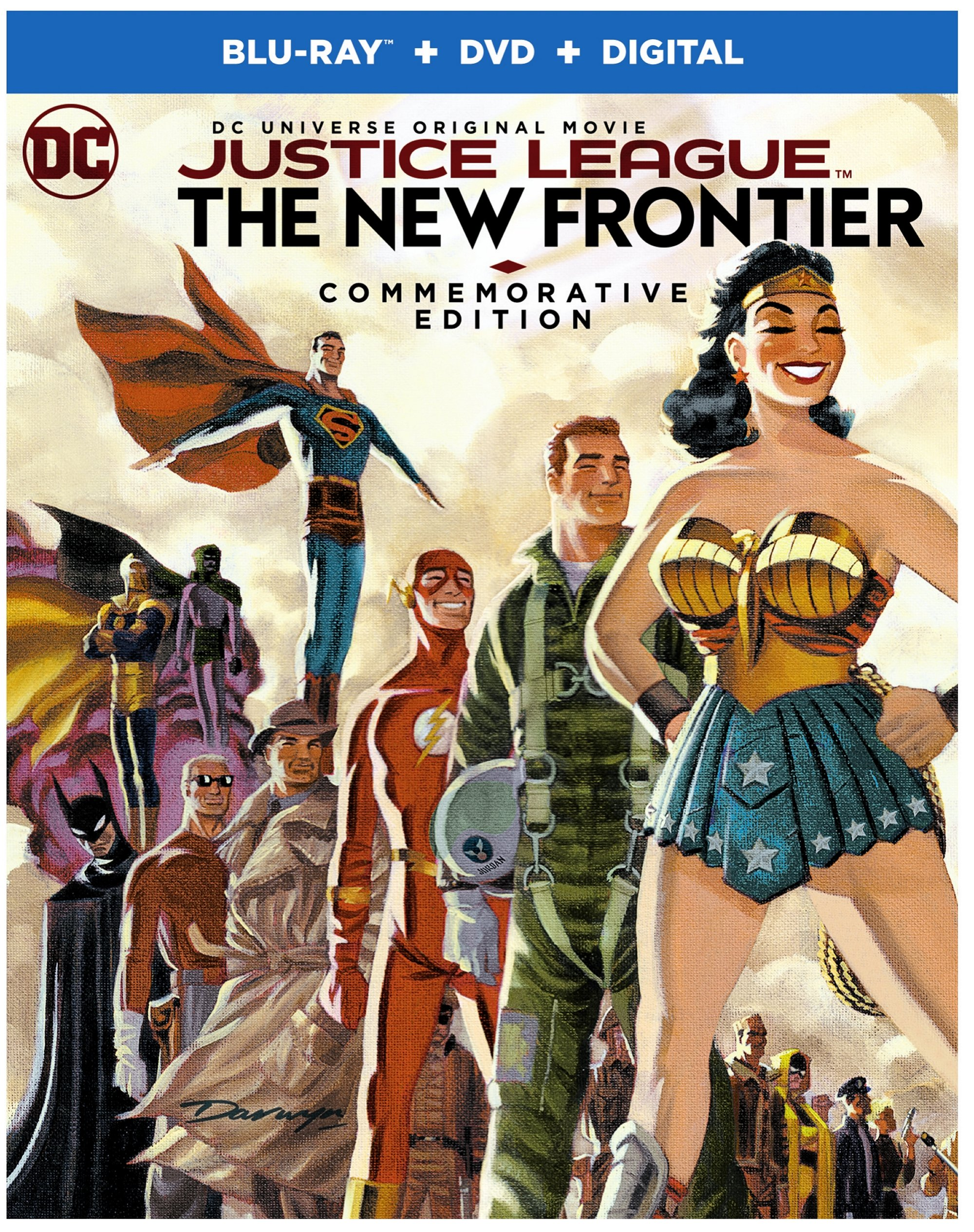 Justice League: The New Frontier Blu-ray