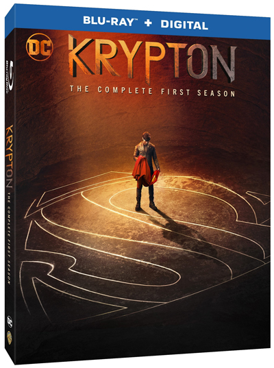 Krypton: The Complete First Season Blu-ray