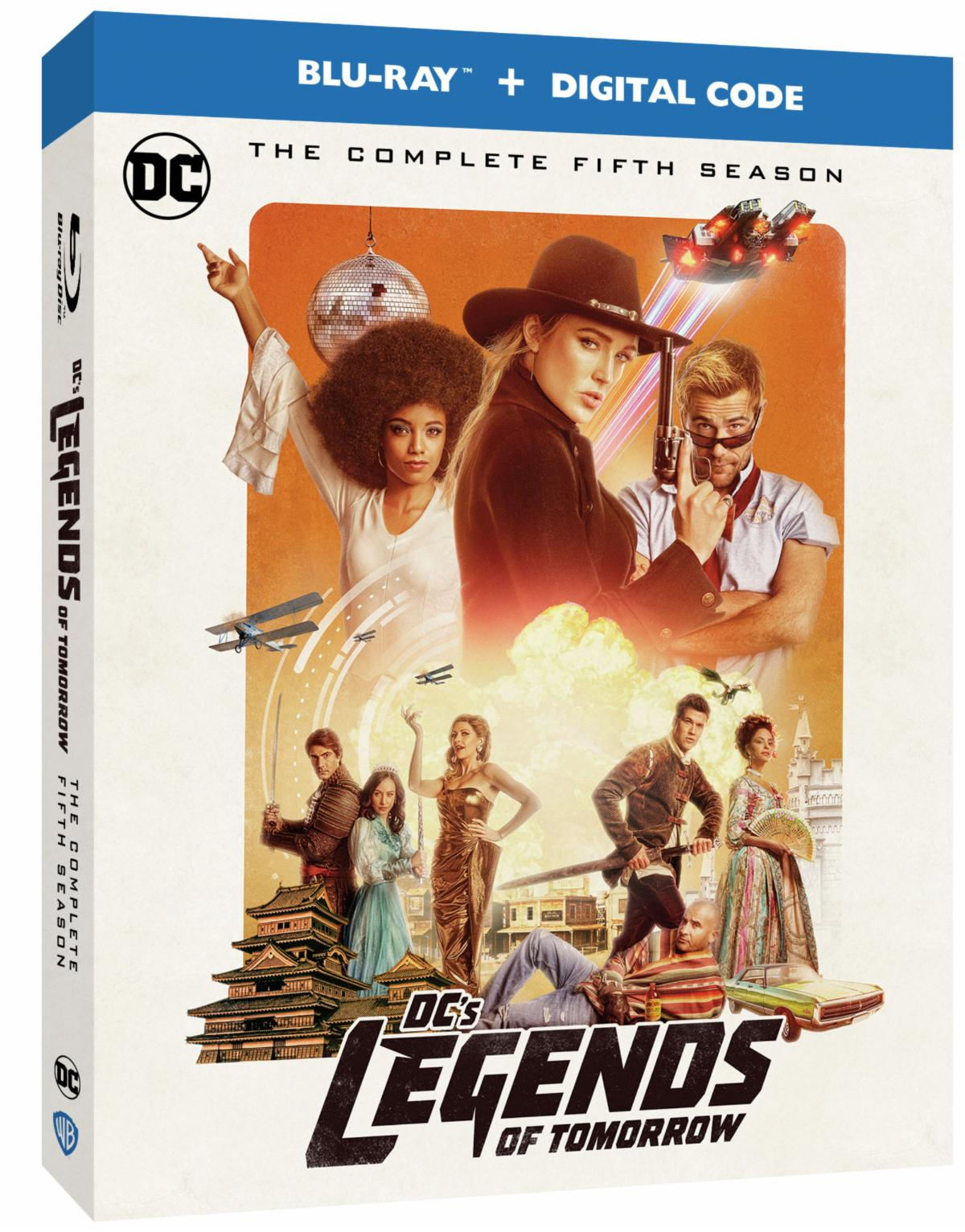 DC's Legends of Tomorrow: The Complete Fifth Season Blu-ray