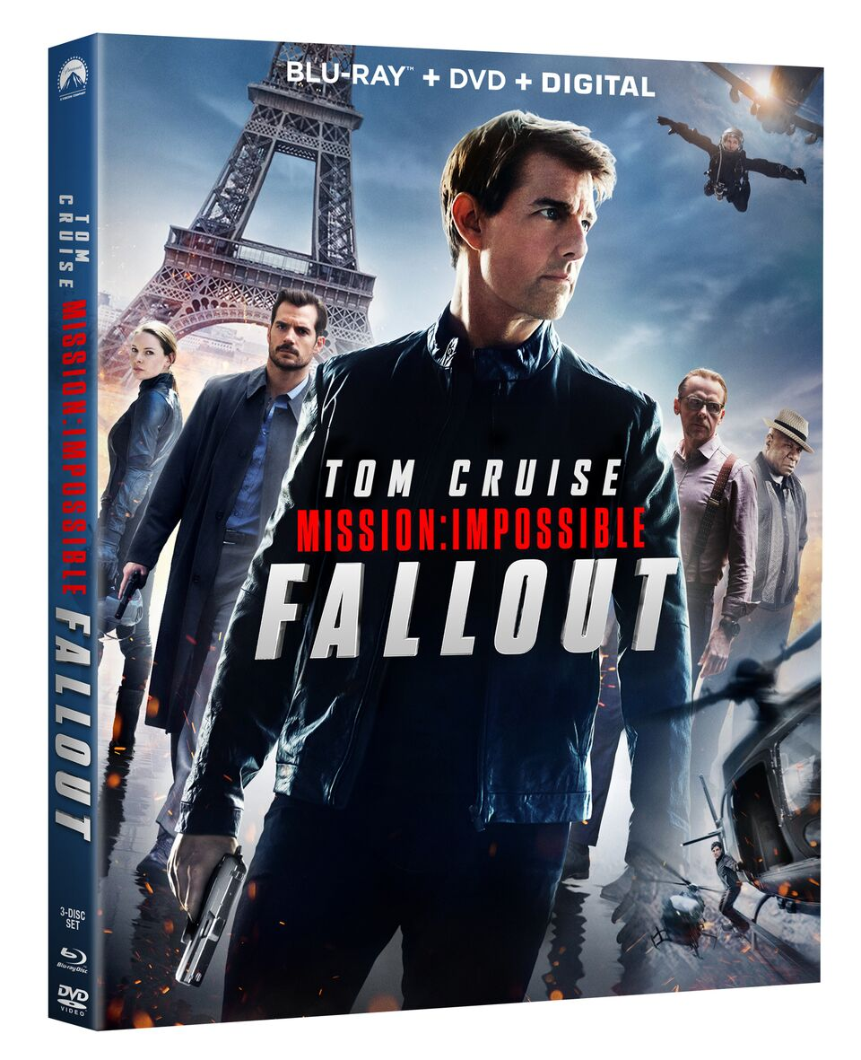Mission Impossible Fallout Blu-ray