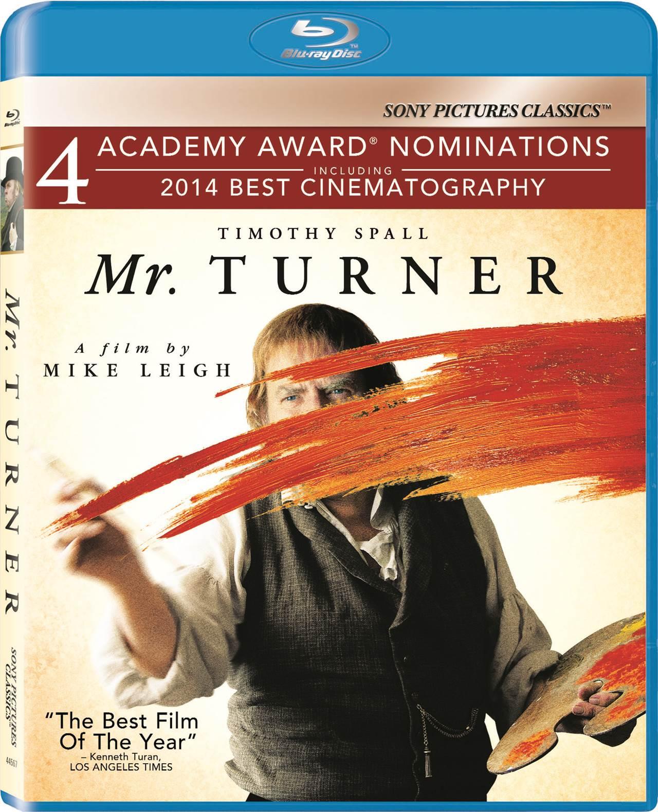 Mr Turner Blu-ray