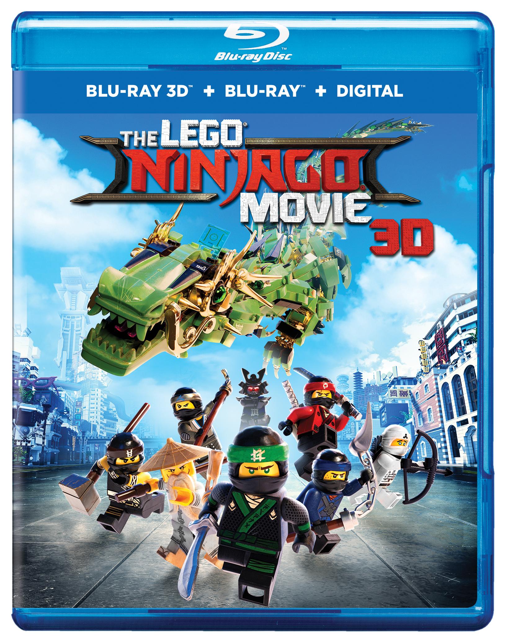 The LEGO® NINJAGO® Movie Blu-ray