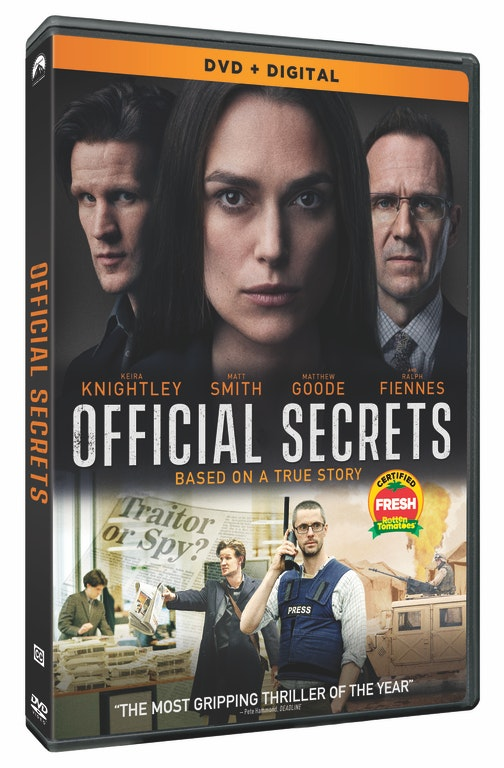 Official Secrets Blu-ray