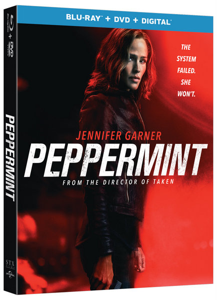 Peppermint Blu-ray