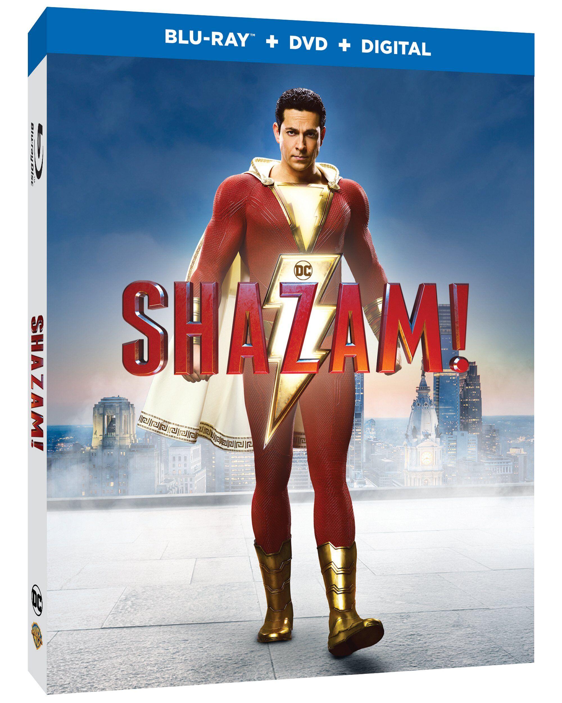 Shazam Blu-ray
