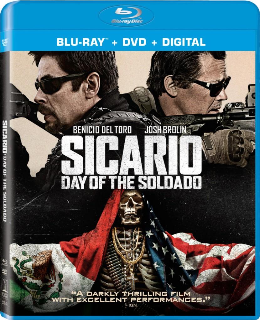 SICARIO: DAY OF THE SOLDADO Blu-ray