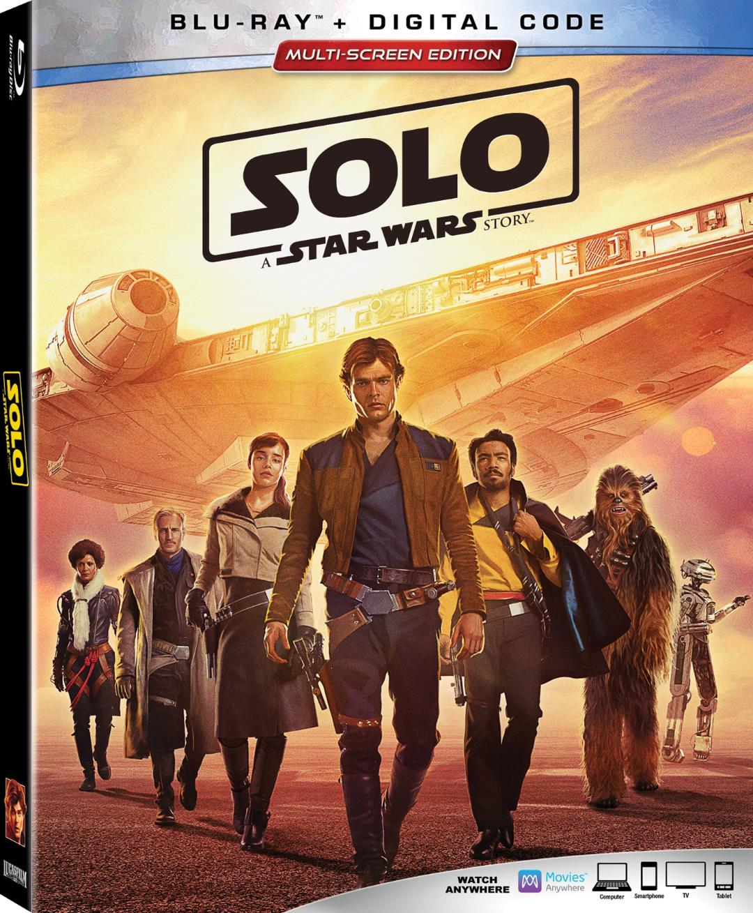 Solo A Star Wars Story Blu-ray Review