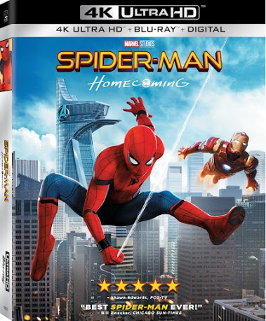 SPIDER-MAN™: HOMECOMING Blu-ray