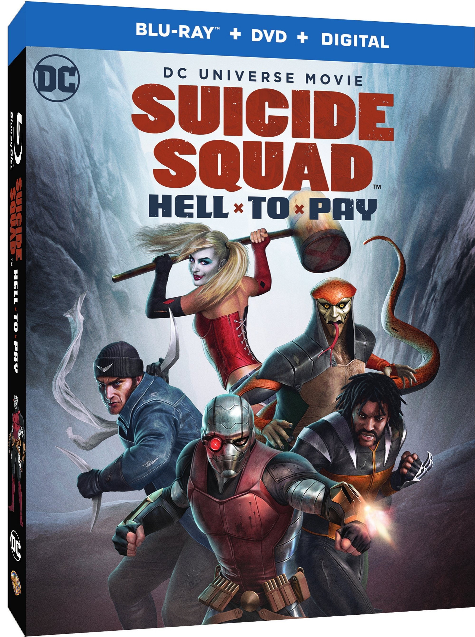 SUICIDE SQUAD: HELL TO PAY  Blu-ray