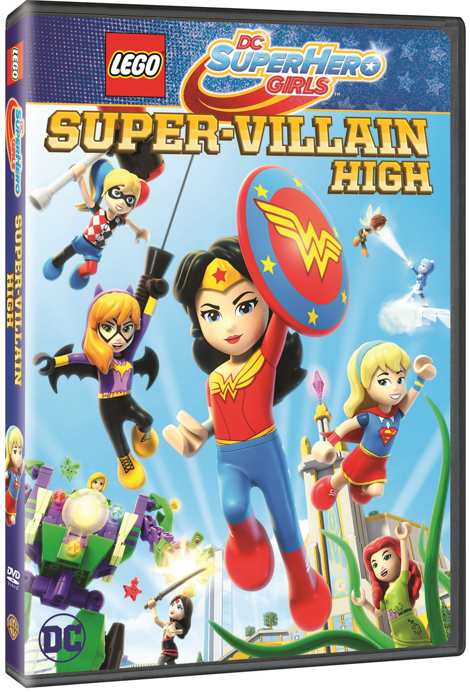 LEGO® DC Super Hero Girls: Super-Villain High  Blu-ray