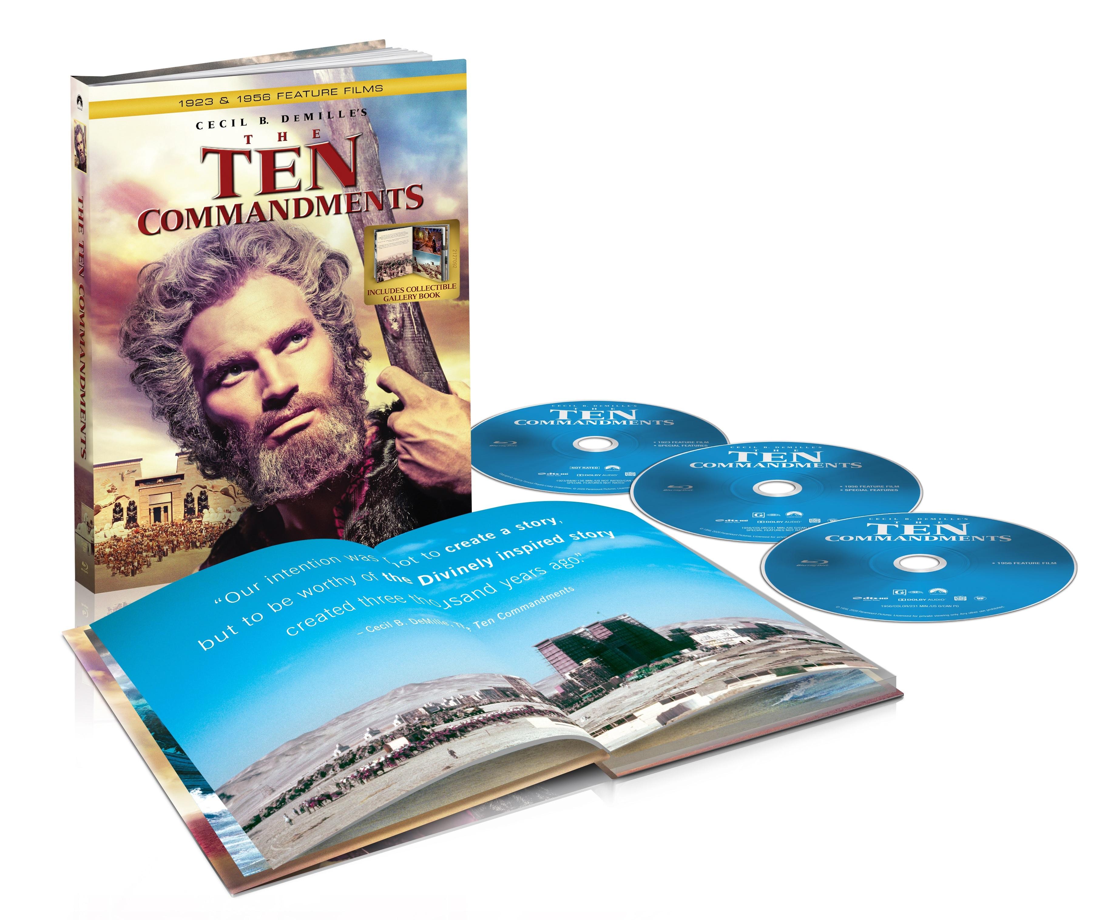 10 Commandments Blu-ray