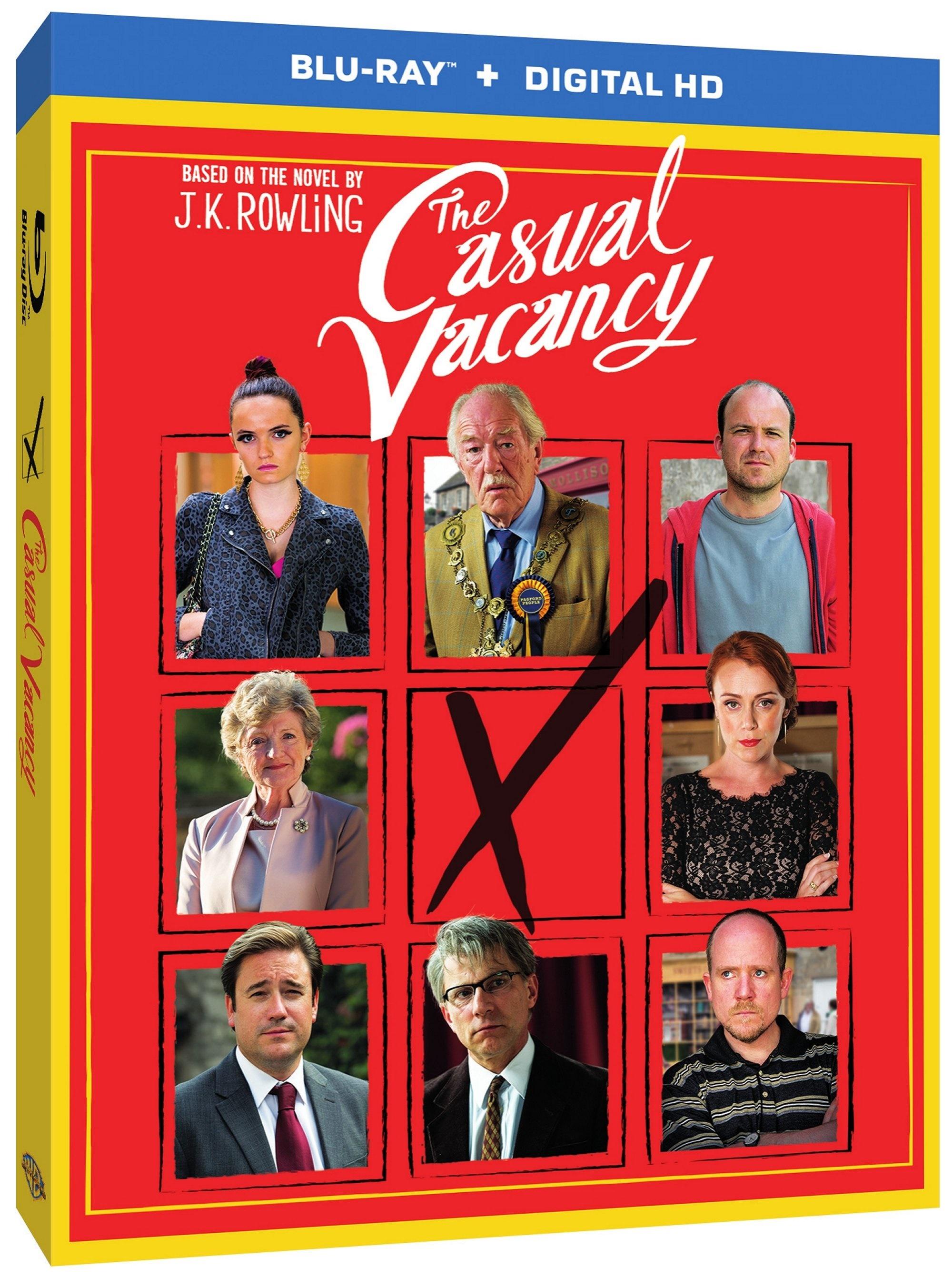 THE CASUAL VACANCY Blu-ray