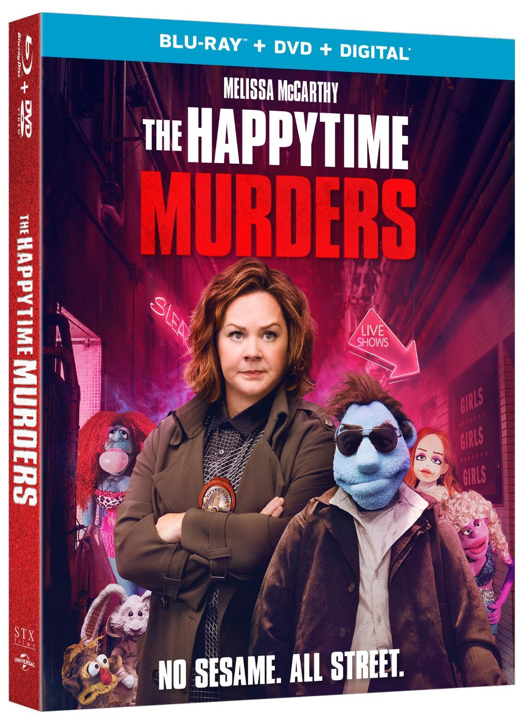 The Happytime Murders Blu-ray
