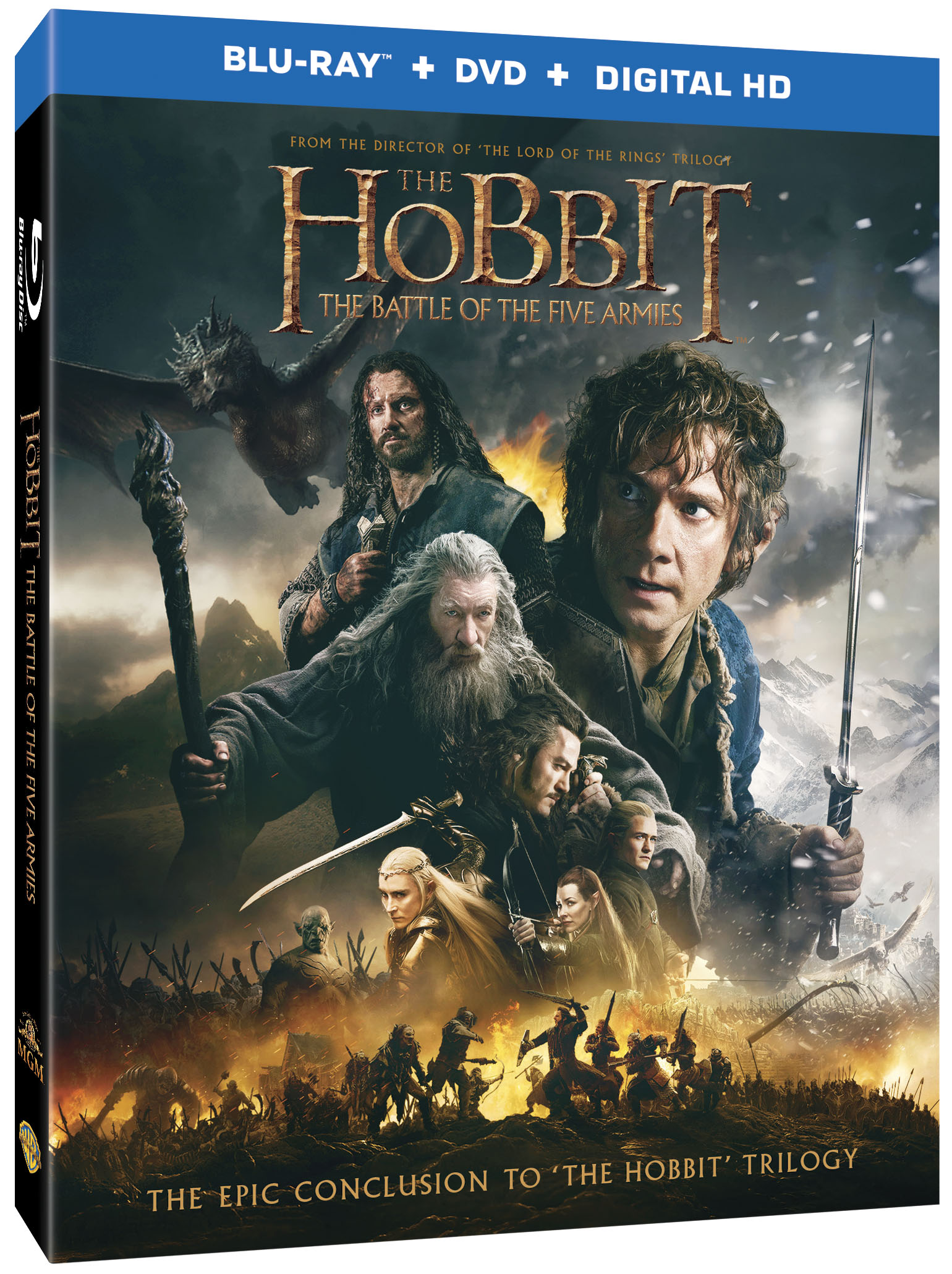 The Hobbit: The Battle of the Five Armies – Blu-ray 3D Combo