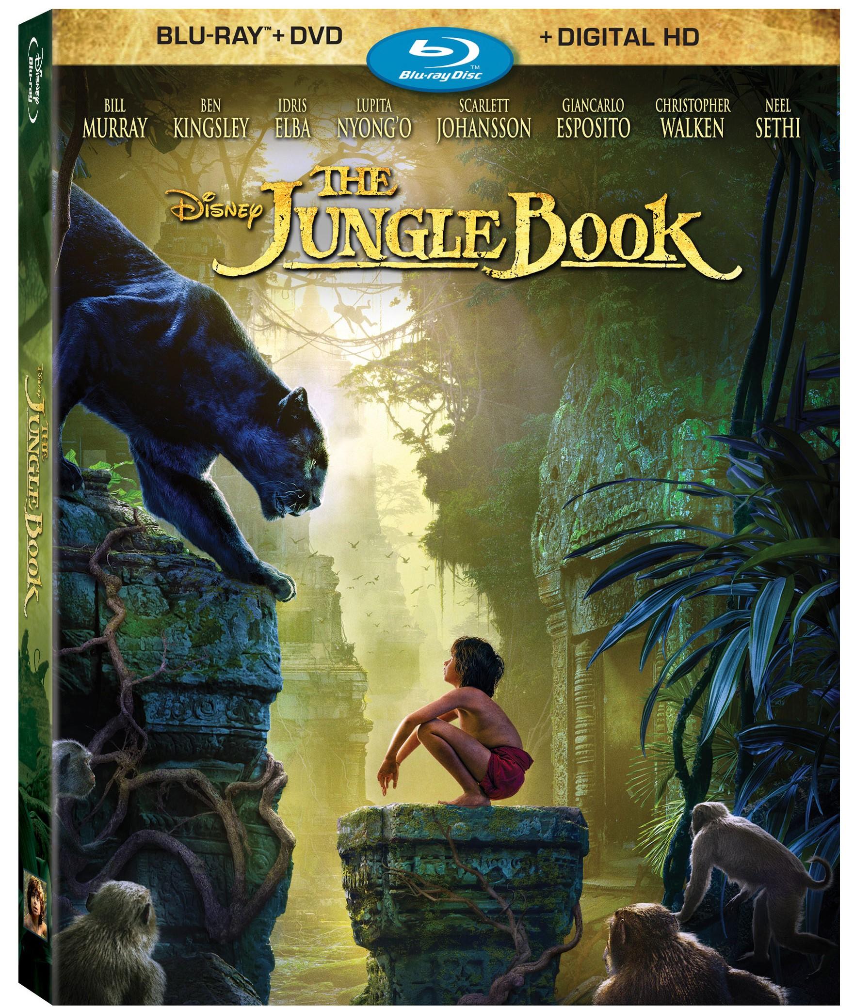 The Jungle Book Blu-ray