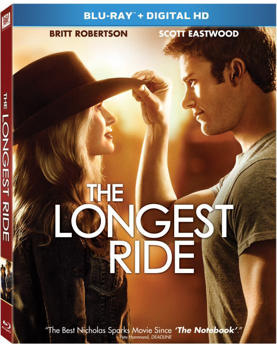 THE LONGEST RIDE Blu-ray