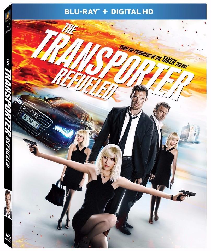 TRANSPORTER REFUELED Blu-ray
