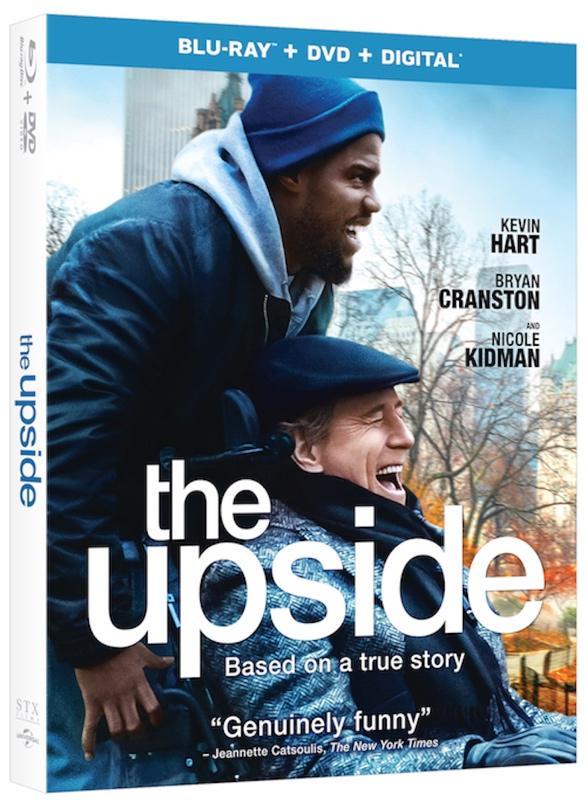 The Upside Blu-ray