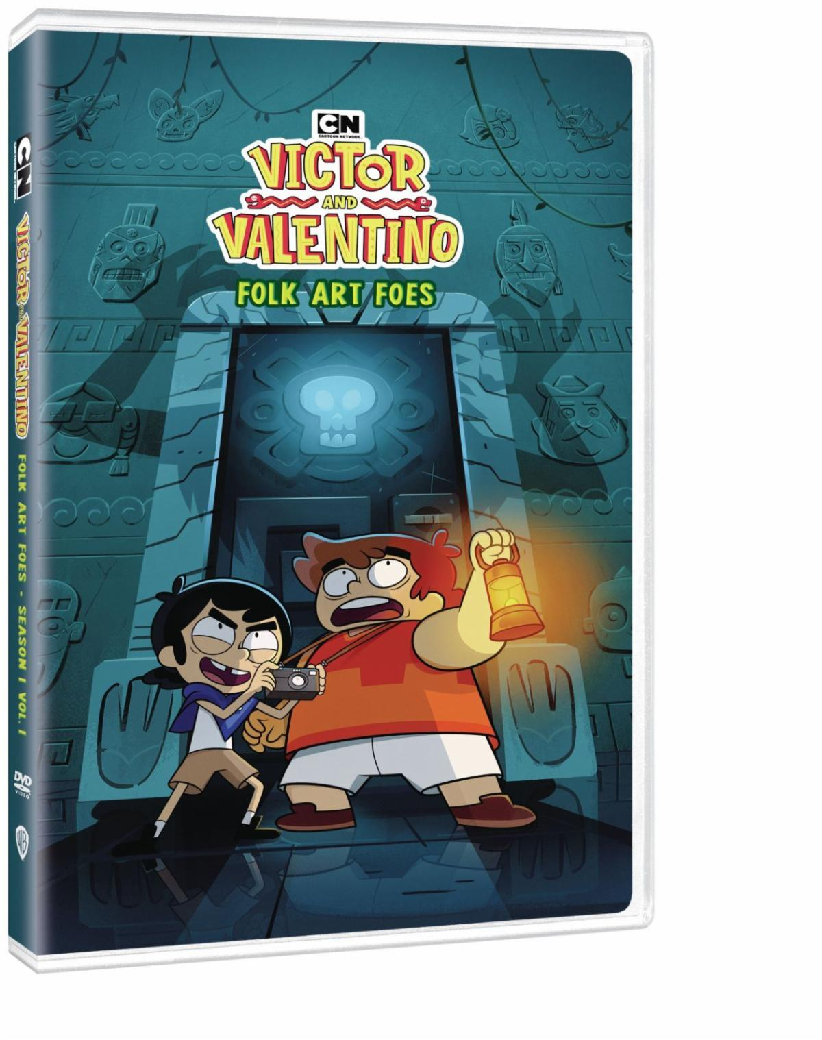 Victor and Valentino Folk Art Foes Blu-ray Review