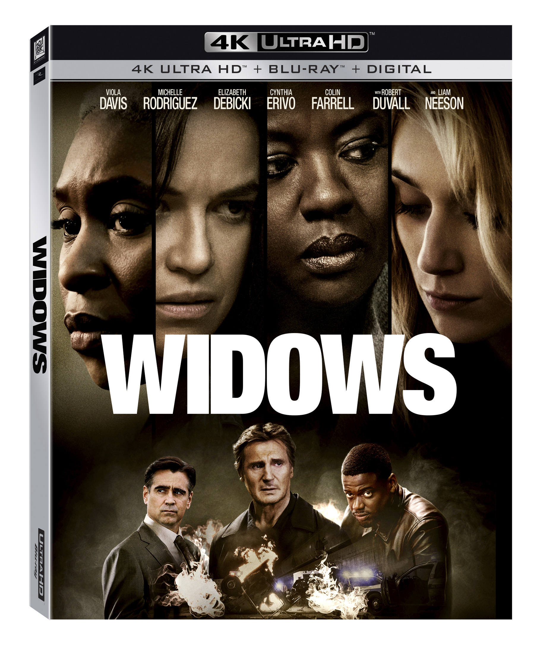 Widows Blu-ray