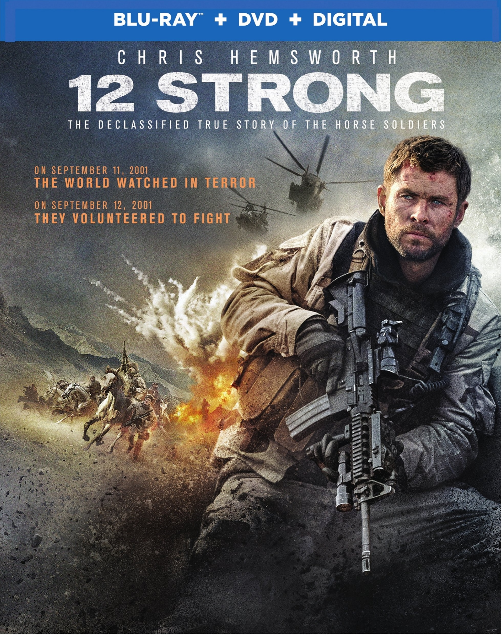 12 Strong Blu-ray Review