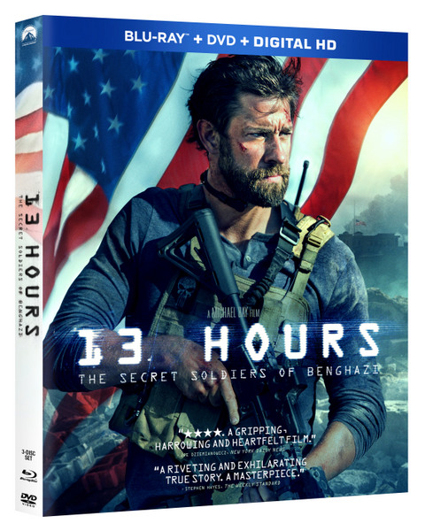 13 Hours: The Secret Soldiers of Benghazi Blu-ray Review