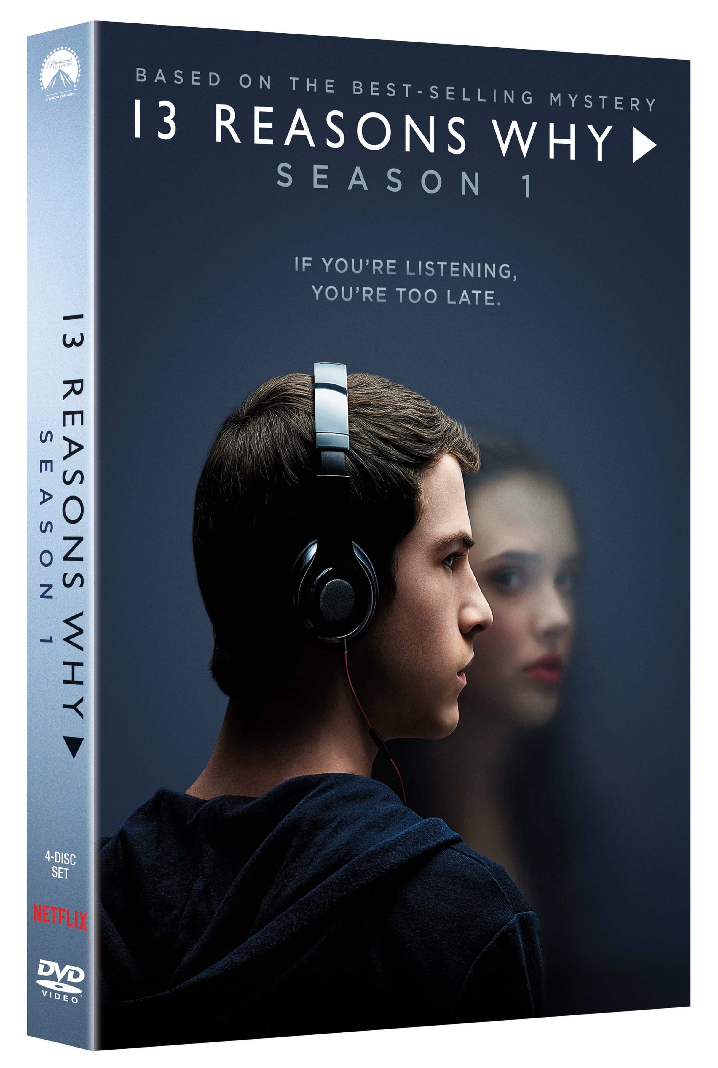 13 Reasons Why Season One DVD Review