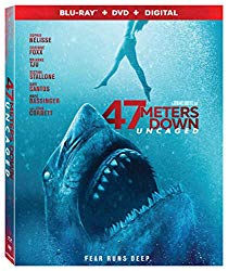 47 METERS DOWN: UNCAGED  Release Poster