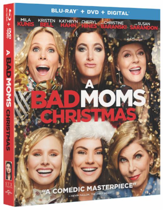 A BAD MOMS CHRISTMAS Blu-ray
