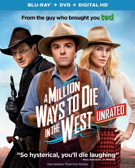 A Million Ways to Die in the West (Blu-ray + DVD + Digital HD)