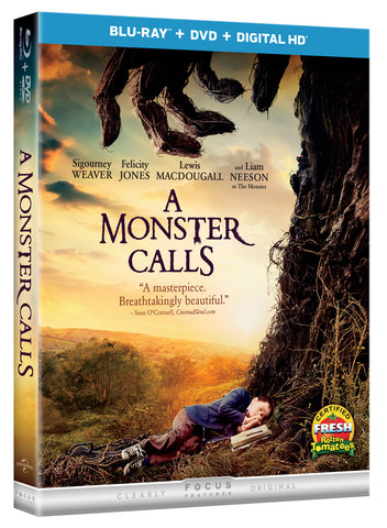 A Monster Calls Blu-ray Review