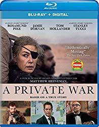 A Private War (Blu-ray + DVD + Digital HD)