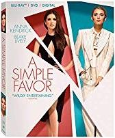 A Simple Favor(Blu-ray + DVD + Digital HD)