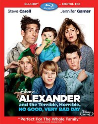 Alexander and the Terrible, No Good, Very Bad Day (BD+Digital HD) [Blu-ray]