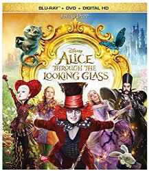 Alice Throught the Looking Glass (Blu-ray + DVD + Digital HD)