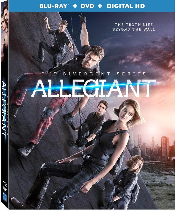 The Divergent Series: Divergent Blu-ray